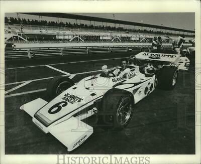 1972 Press Photo Bobby Unser, the early favorite in the Indianapolis 500