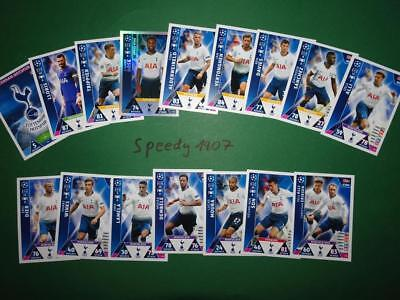 Topps Champions League 2018 2019 all 18 Tottenham Kane complete Match Attax