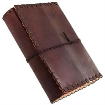 Handmade Leather Diary Journal Medieval Renaissance Thought Book Notebook Poetry