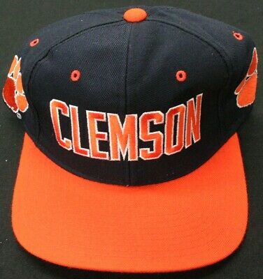 quality design 713cb c406c Vintage Clemson Tigers Headway NCAA Licensed 90 s Snapback ~ New Without Tag