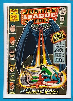 JUSTICE LEAGUE OF AMERICA #96_FEBRUARY 1972_VF MINUS_BRONZE AGE DC 52 Pg GIANT!
