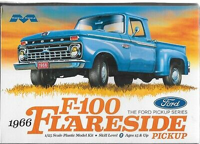 Moebius 1232 - 1966 Ford F-100 Flareside  Pickup Truck - Plastic Model Kit