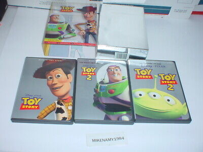 Disney's TOY STORY & TOY STORY 2 Ultimate Toy Box Collectors Edition- 3 disc DVD