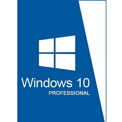 Windows 10 Pro Professional 32/64 Bit Product Key License ESD 1 PC