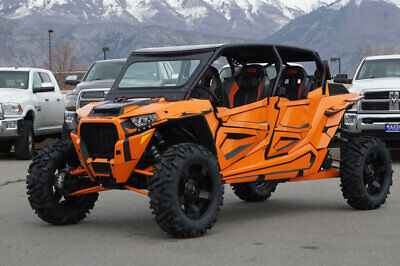 Rzr 1000 Turbo 4 Seater Awd Over $10K In Upgrades Custom Cage Seats Wheels Tires
