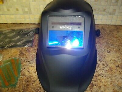 Lincoln Electric 1740 Series Welding Helmet Auto Darkening Viking Helmet
