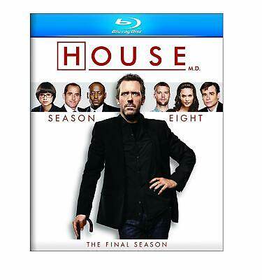House Md Tv Series Complete Final Eighth Season 8 Blu-Ray 2012 5-Disc New Sealed