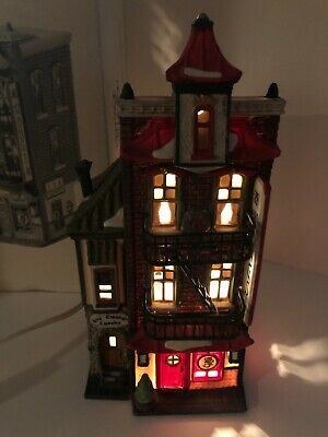 Dept 56 Heritage Village Collection, Christmas In The City, Wong's In Chinatown