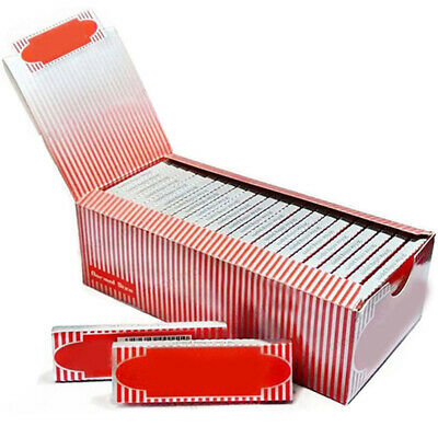 NEW Moon Red Cigarette Tobacco Rolling Papers 2500 Leaves 1 Box 50 Booklets US
