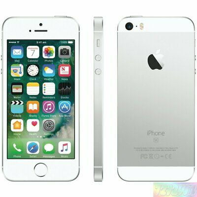 Apple   iPhone SE Silver 128GB 4G LTE EXPRESS SHIP  Smartphone incl GST