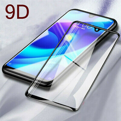 For Xiaomi Redmi Note 7 9D Curved Full Cover Tempered Glass Screen Protector