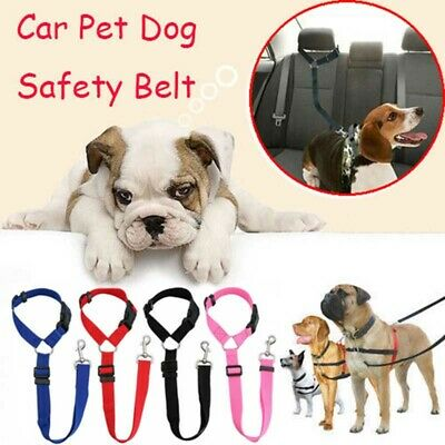 Adjustable Pet Dog Seat Belt Travel Safety Harness Car Vehicle Lead Restraint