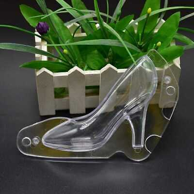 3D DIY High Heel Shoe Chocolate Mould Candy  Sugar Paste Cake Decorating ·Molds