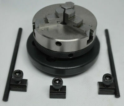 """PLATE ATOZ 65mm self centering lathe chuck Rotary Table 4/"""" 100mm HV Model"""