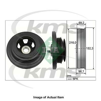 New Genuine INA Crankshaft Belt Pulley 544 0116 10 Top German Quality