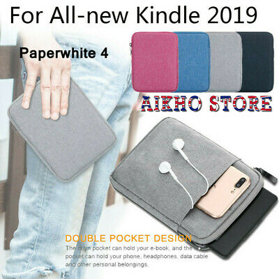 Soft Sleeve Bag Case Cover Pouch for Amazon All-New Kindle 10th Gen Paperwhite 4