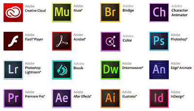 ADOBE MASTER CREATIVE SUITE CC 2019 FULL LIFETIME for WINDOWS