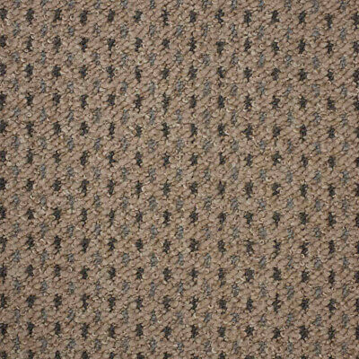 Beige Dakota Cheap Dot Patterned Loop Pile Carpet Hardwearing Felt 4m Wide
