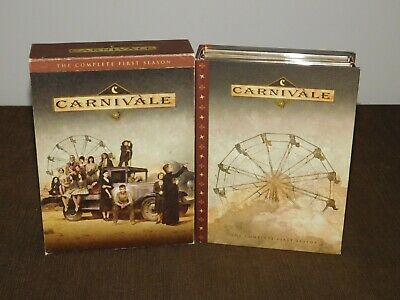 2004 Hbo First Season 6 Dvd Set Carnivale Movie Episodes 1-12