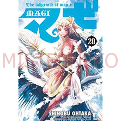 Manga - Magi - The Labyrinth Of Magic 20 - Star Comics