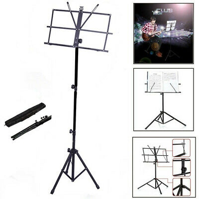 Adjustable Height Tripod Conductor Book Sheet Violin Cello Music Stand with Bag