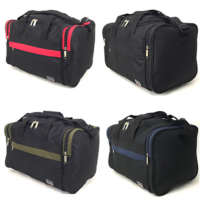 Mens Womens Gym Cabin Sports Holdall Overnight Weekend Travel Medium Bag 27 Ltrs