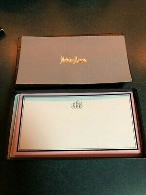 Personalized Notecards featuring Monogram k C s  from Neiman Marcus