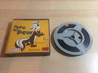 Pelicula Pepe le pew louvre come back to me super 8 mm Movie film