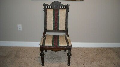 Earlier 1900's hand carved Antique chair
