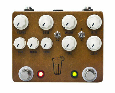 JHS Sweet Tea V3 2-in-1 Dual Overdrive Guitar Pedal