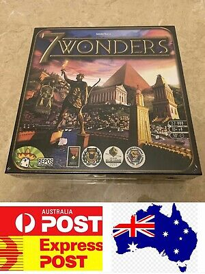 Fantastic Party Board Game, 7 Wonders, AU Stock, Express Post