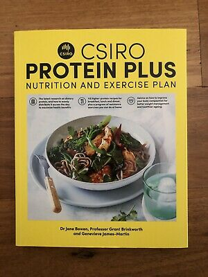 NEW CSIRO Protein Plus|Nutrition And Exercise Plan