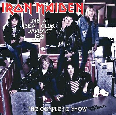 IRON MAIDEN Live At Beat-Club January 1981 Complete Show LP 58 min UK MINT VINYL