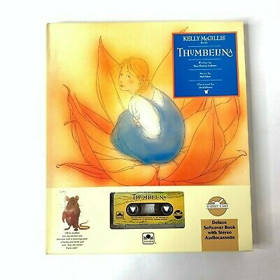 Rabbit Ears Family Classics: Thumbelina Soft Cover Book and Cassette (1993)
