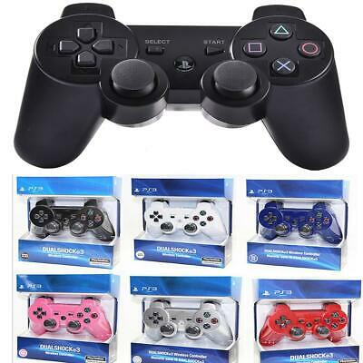 Wireless Bluetooth Game Remote Controller Dual Shock Joystick For PS3 Gamepad