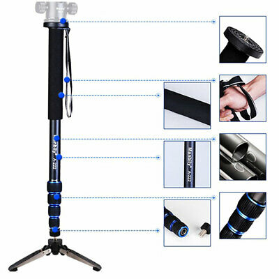 Telescopic Adjustable Photography Monopod Mini Tripod for DSLR Camera Camcorder