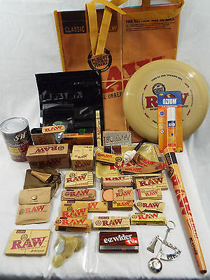 RAW Brand 38 Piece Ultimate Set- Tote Tray Hydrostone Tins Roller Papers #20
