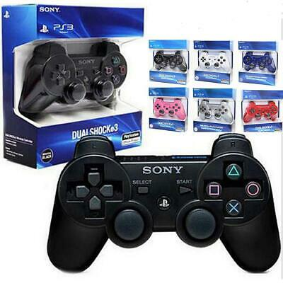 Wireless Bluetooth Dual Vibration Gamepad Game Controller For PS3 PlayStation 3