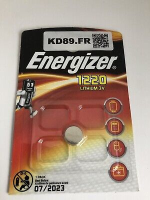 pile energizer CR 1220 lithium 3 v clef voiture Seiko montre Val Juil 2023