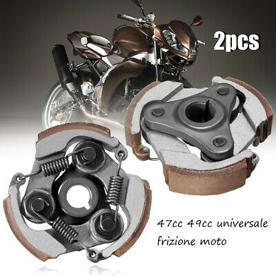 2x Minimoto Clutch ATV Dirt Bike Mini Quad Moto Pocket Bike Air Cooled 47cc 49cc