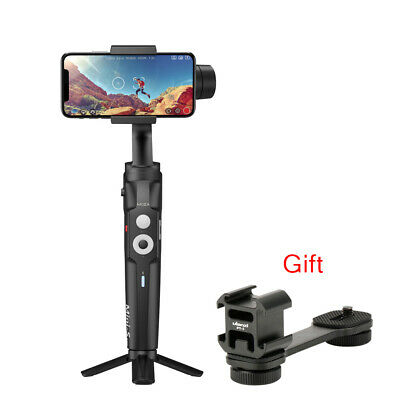 MOZA MINI-S 3-Axle Handheld Gimbal Foldable Stabilizer PT-3 Mount For Smartphone