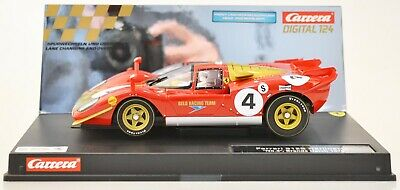 "Carrera 23798 Ferrari 512S Berlinetta ""No.4"", Brands Hatch 1970 1:24 NEU/OVP"