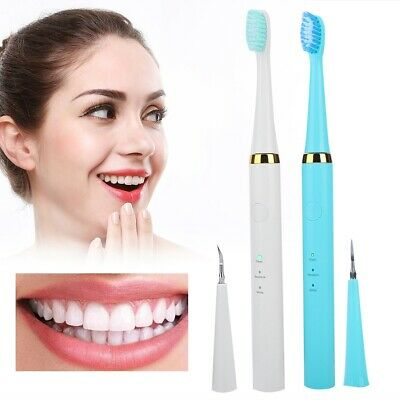 Electric Sonic Dental Calculus Remover Scaler Tooth Stains Removal USB Tool