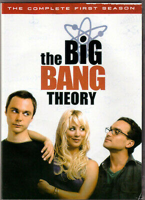 THE BIG BANG THEORY Complete FIRST SEASON 1 on a DVD of TV SHOW Series NERD Geek