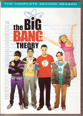 THE BIG BANG THEORY Complete SECOND SEASON 2 on a DVD of TV SHOW Serie NERD Geek
