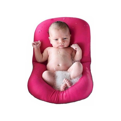 Baby Bath Tub Pillow, 4EVERHOPE Floating Anti-Slip Bath Cushion Soft Seat for