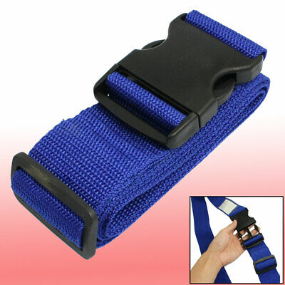 Travel Side Release Buckle Adjustable Luggage Suitcase Belt Strap