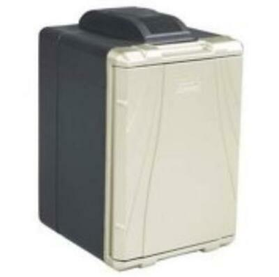 40 Quart Powerchill Thermoelectric Cooler Silver / Black Portable Adjustable NEW