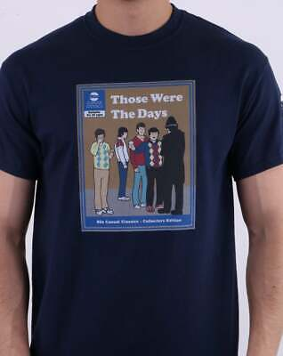 80s Casual Classics Those Were The Days T Shirt in Navy Blue