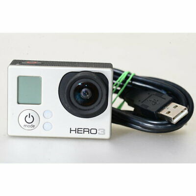 GoPro Hero3 Actioncam / Go Pro HERO 3 Camcorder in Silber / Actionkamera